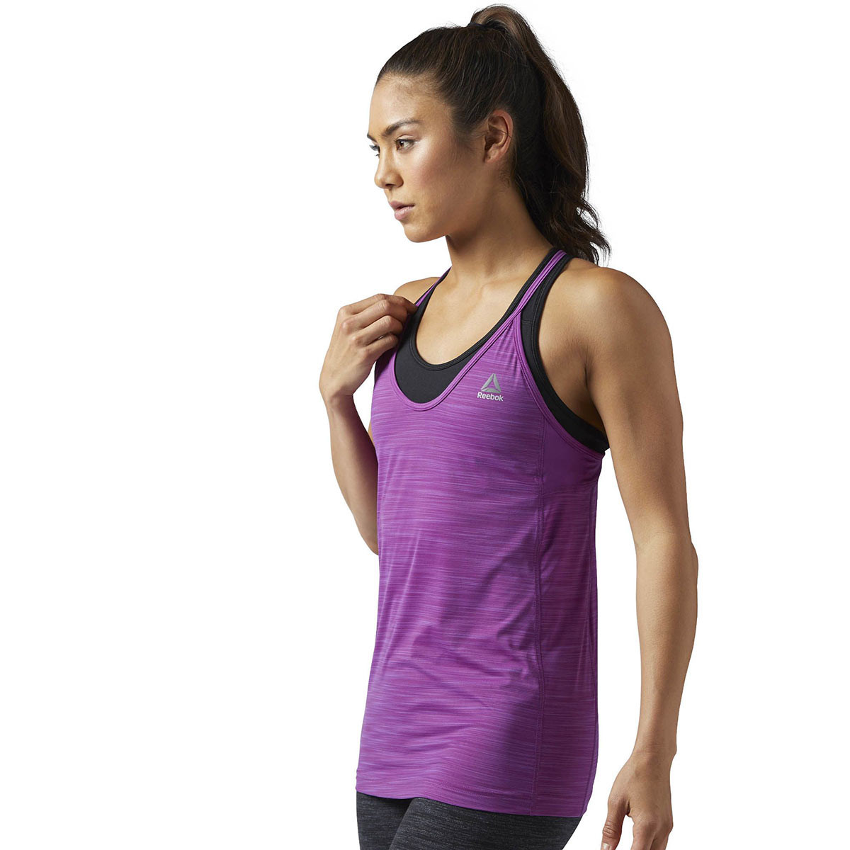358ce60715e3be Reebok Activchill Tank - Fitness tops for Women - Pink