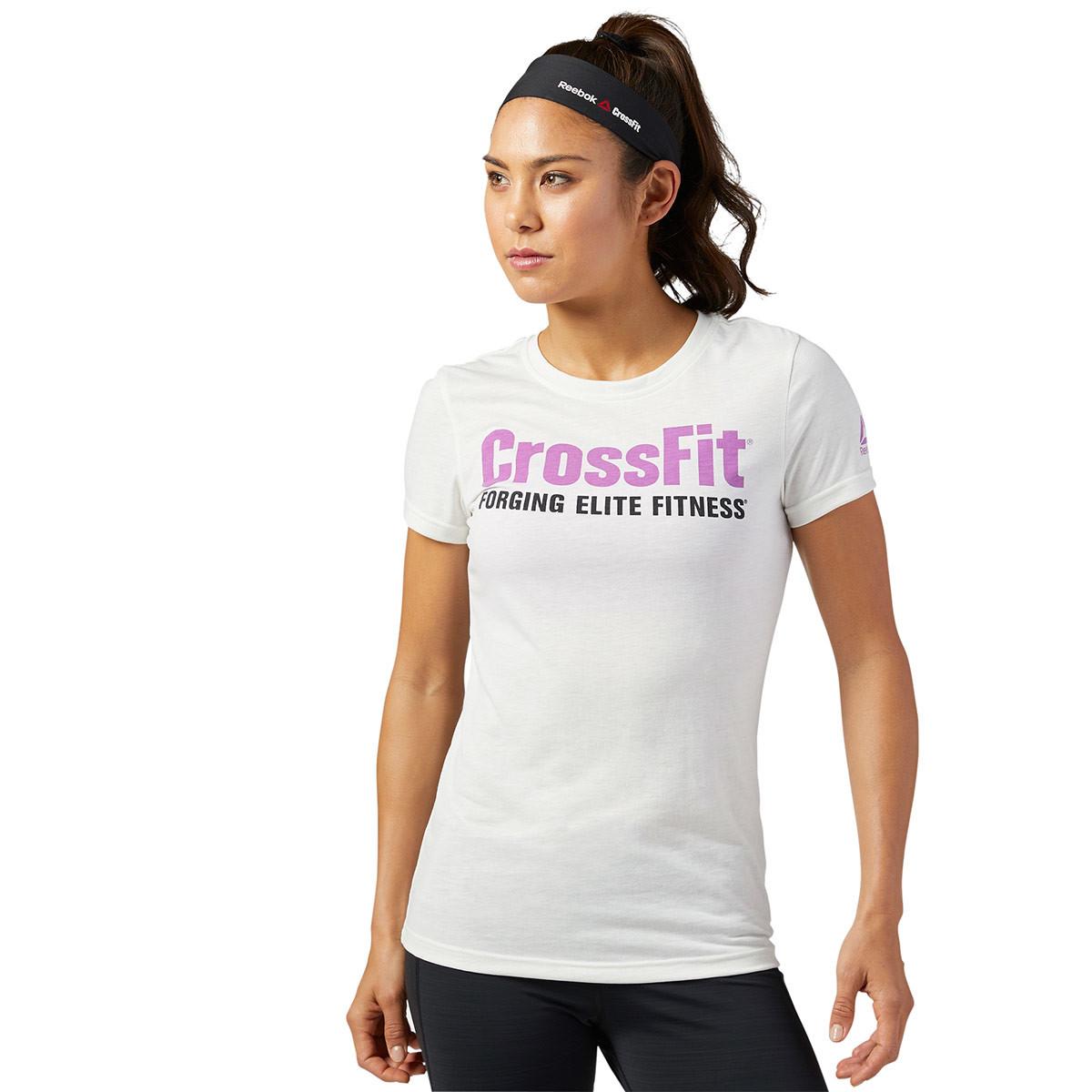 a3eb092ef1a7cb Reebok Fef Speedwick New Shirt Short Sleeve - Fitness tops for Women -  White