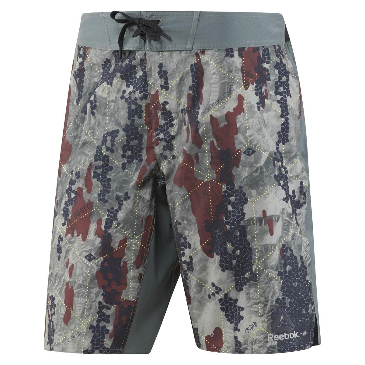 b2f7023e40 Reebok Spartan Race Board Short - Running trousers for Men - Grey | 21RUN