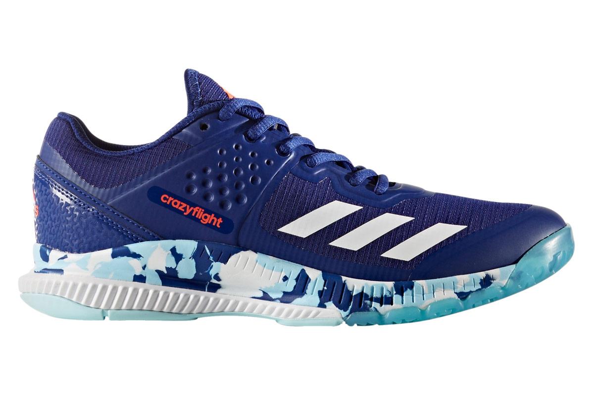 adidas Crazyflight Bounce - Volleyballschuhe für Damen - Blau