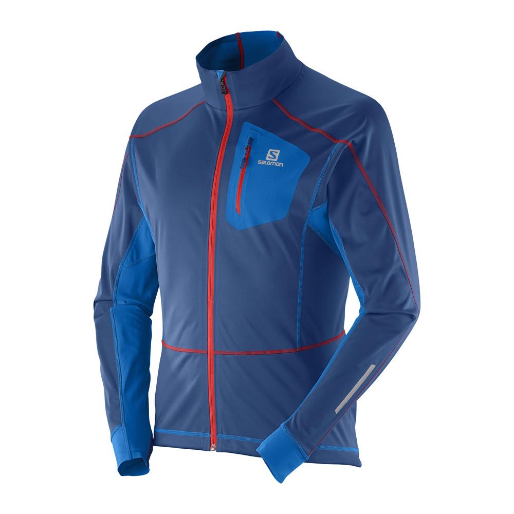 Salomon Equipe Softshell Jacket Running jackets for Men Blue