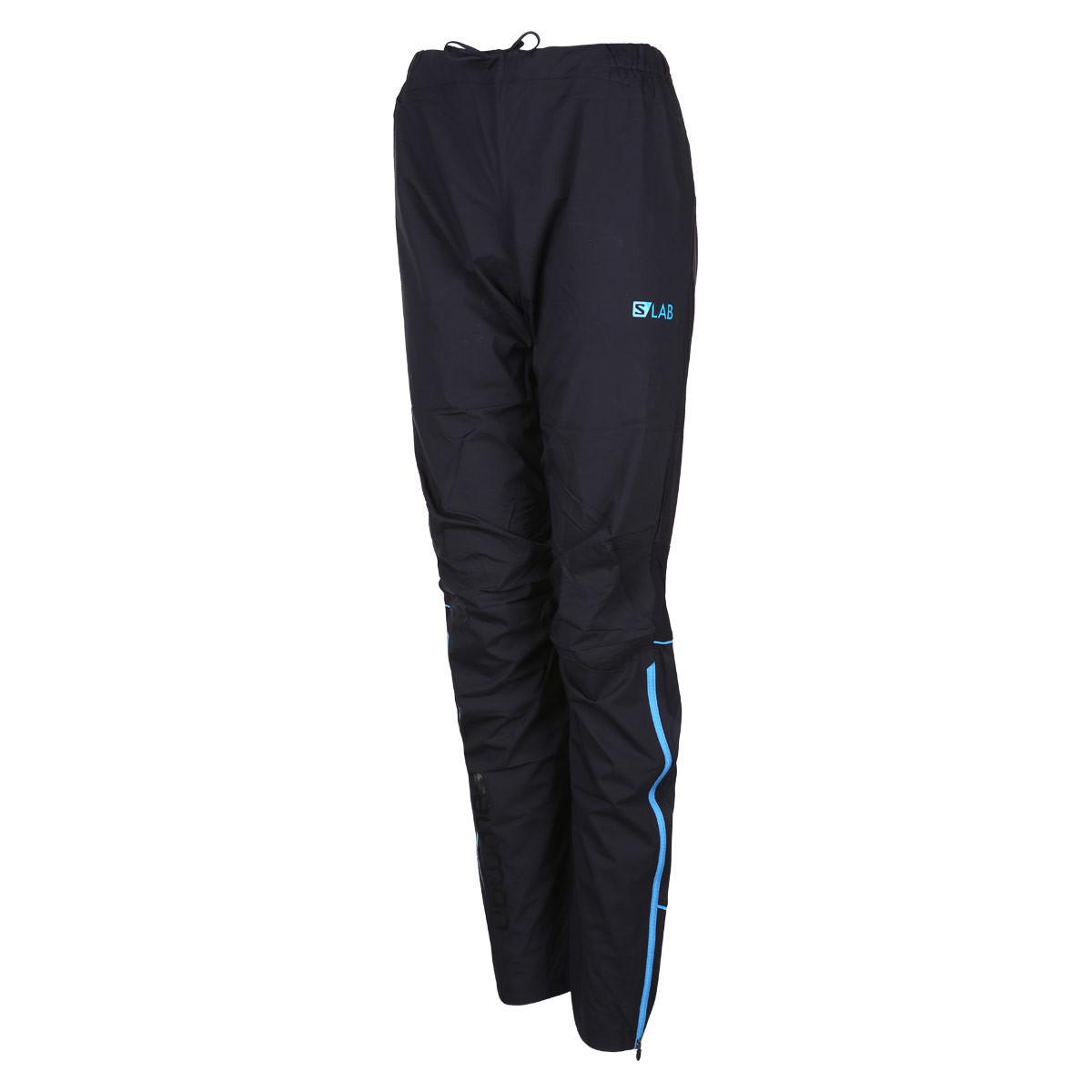 2545fe92f6e Salomon S-Lab Hybrid Pant - Pantalones de running para Hombre - Negro    21RUN
