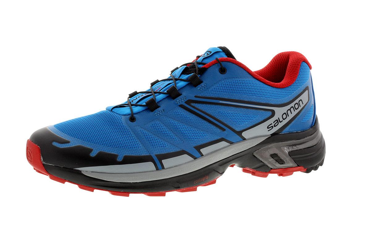 Chaussures Pour Salomon 2 Wings Homme Running Pro Bleu 21run wqat7O