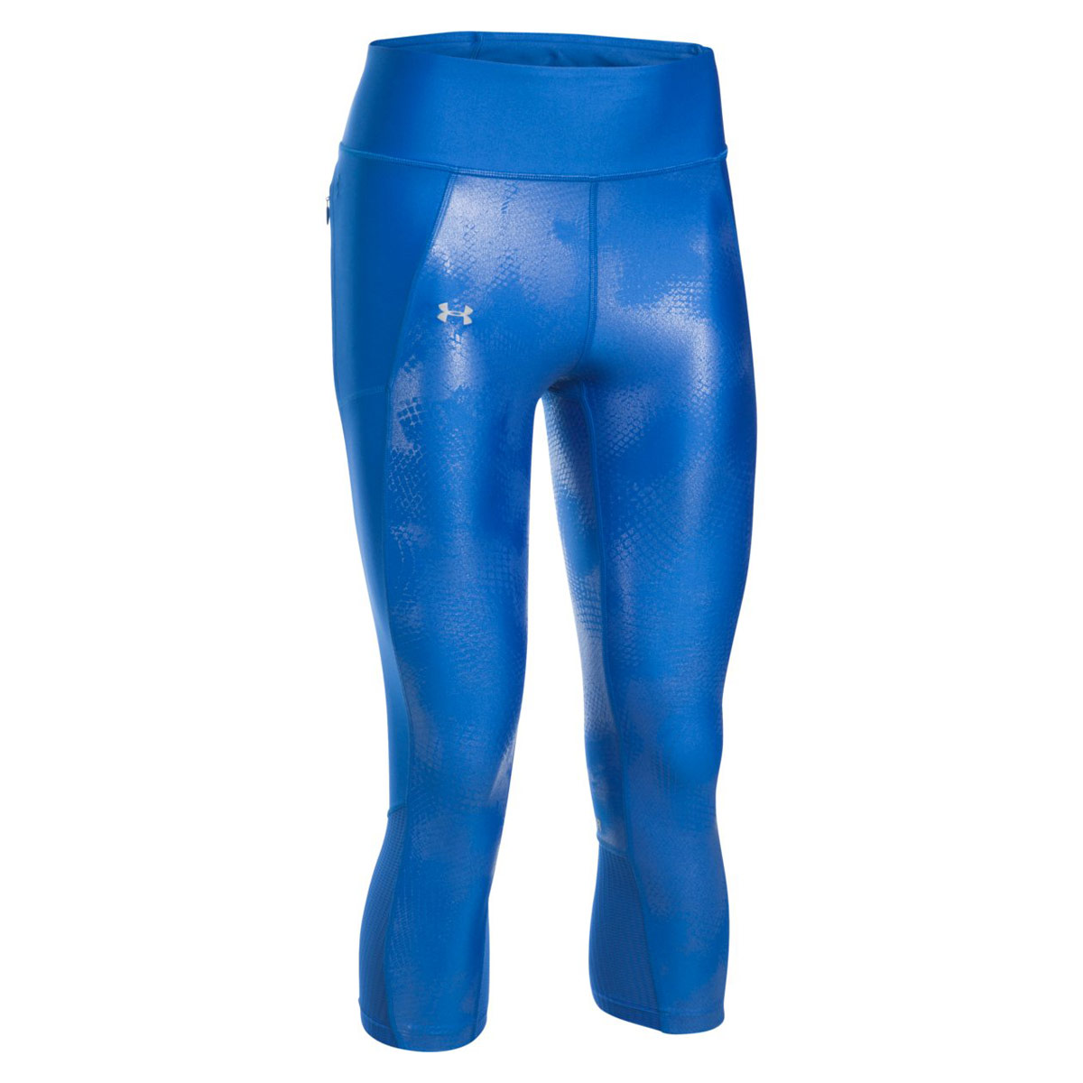 ac4dfb5491c41e Under Armour Fly By Printed Capri - Running trousers for Women - Blue |  21RUN