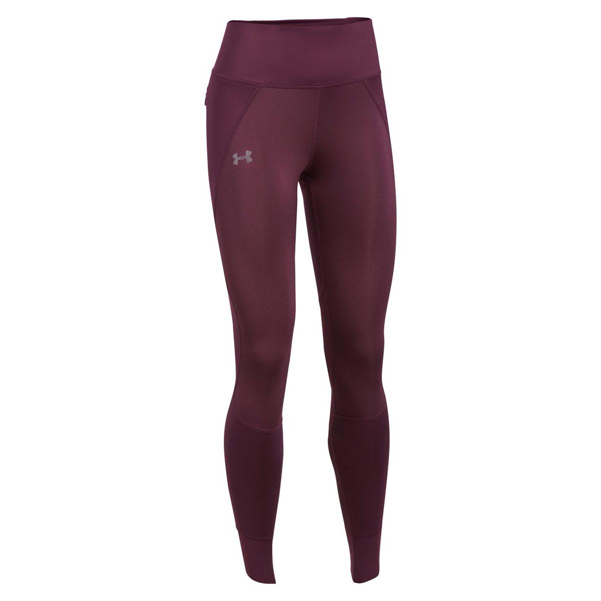 b75c93c138b940 Under Armour ColdGear Reactor Run Leggings - Running trousers for Women -  Red | 21RUN