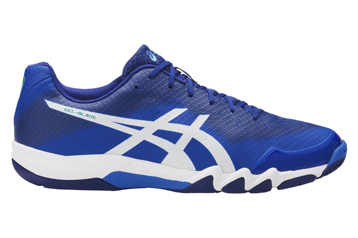 ASICS GEL Blade 6 Chaussures sports en salle pour Homme Bleu