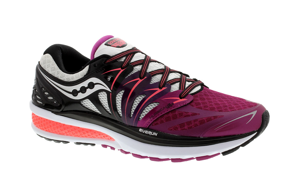Saucony Hurricane Iso 2 - Running shoes for Women - Black  6c5fa9aef870
