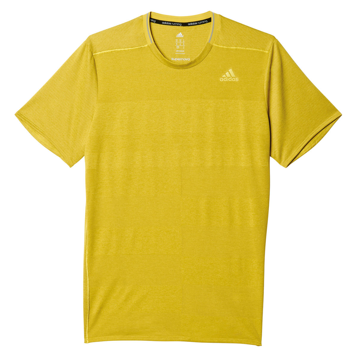 online retailer 010d7 58ded adidas Supernova Short Sleeve - Running tops for Men - Yellow   21RUN