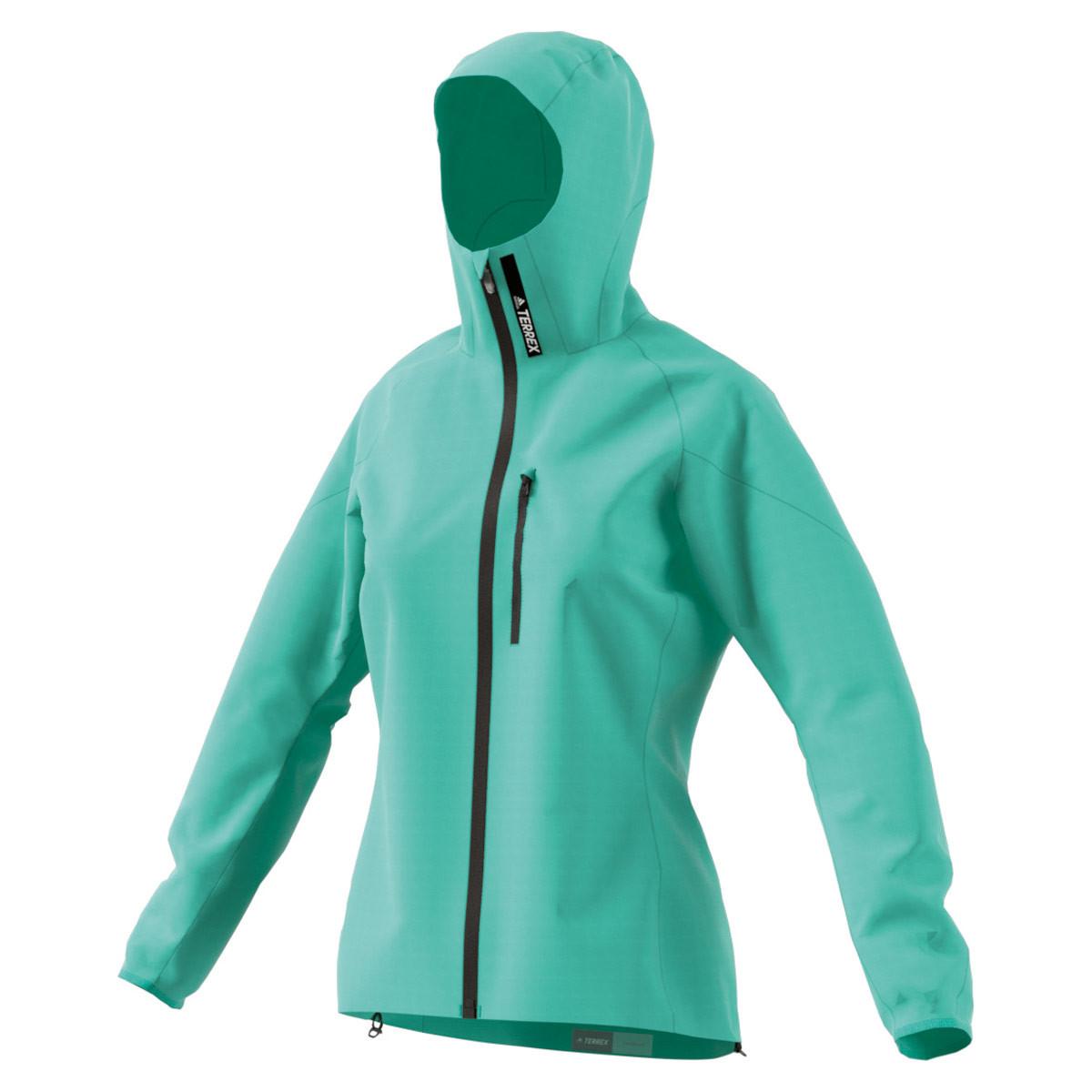 adidas Terrex Agravic 3L Jacket - Laufjacken für Damen - Grün