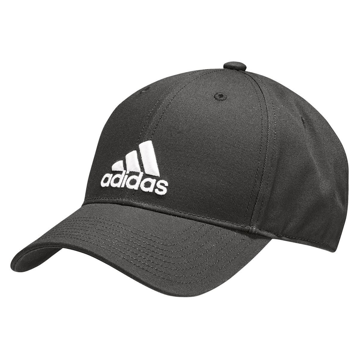 fec57283 adidas 6 Panel Classic Cap Cotton - Headdress - Black | 21RUN