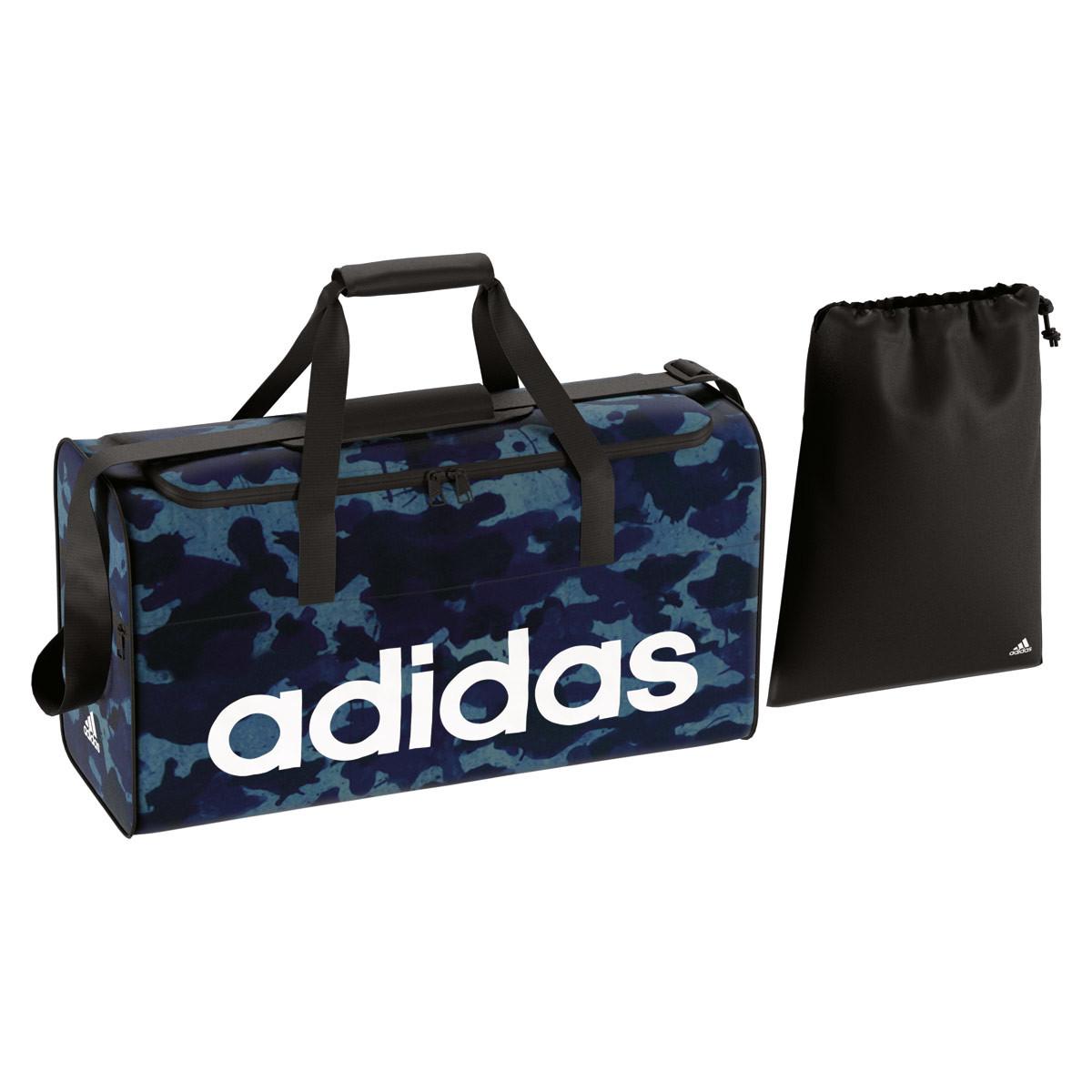 33b154c98863f adidas Linear Performance Teambag Graphic - Sporttaschen - Blau