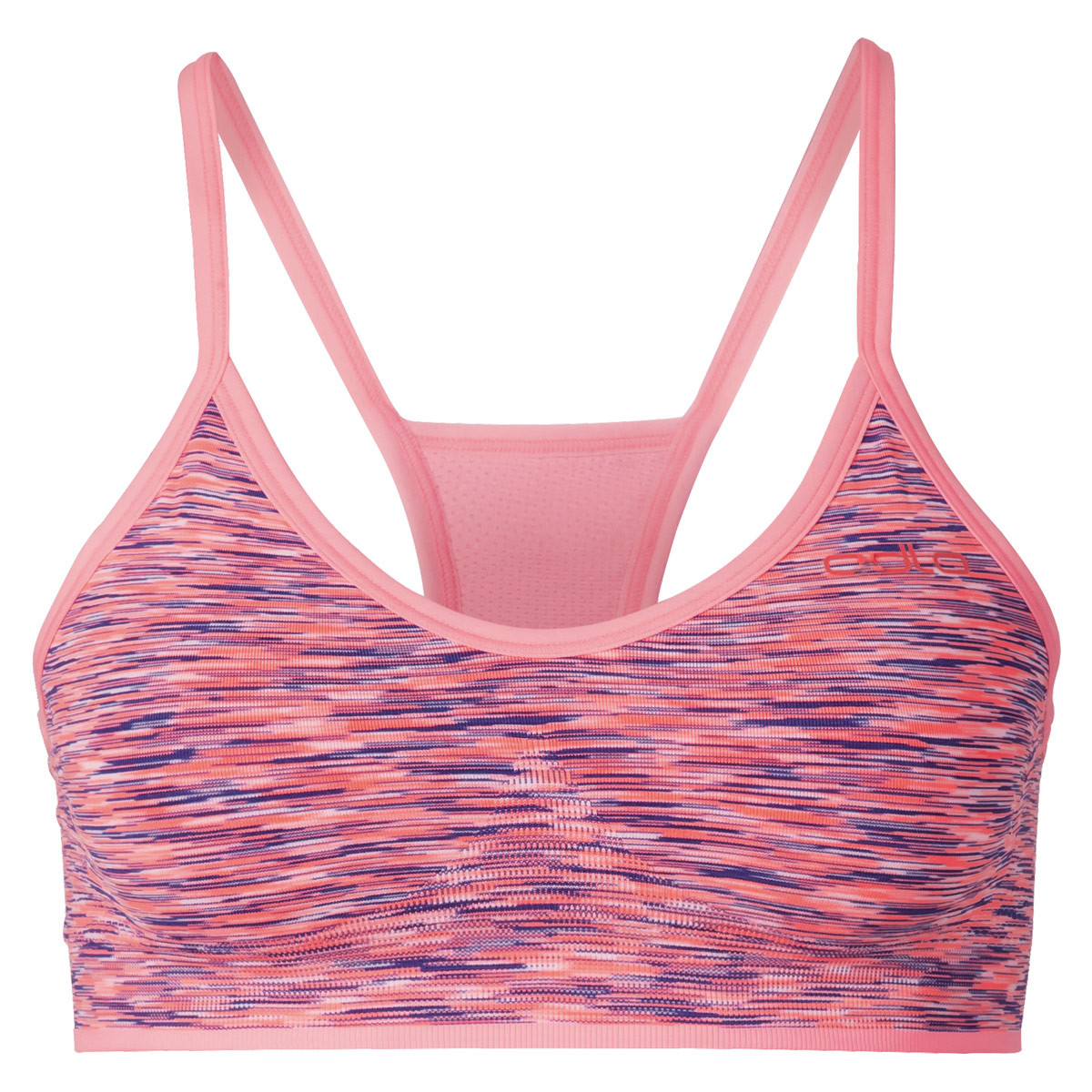 ca02573a95 Odlo Sports Bra Fitness Soft - Functional underwear for Women - Red ...