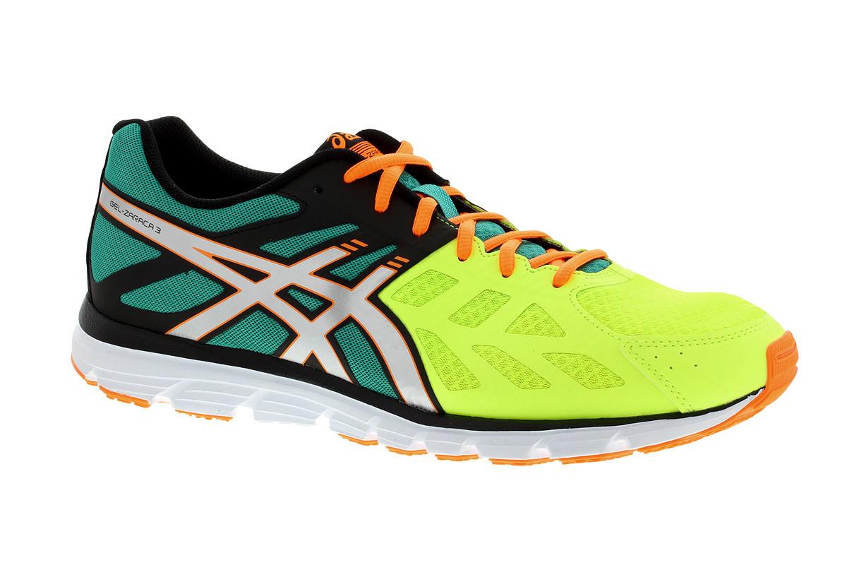 Pour Asics Zaraca Noir Gel Running 3 Chaussures Homme 7f6gybIYvm