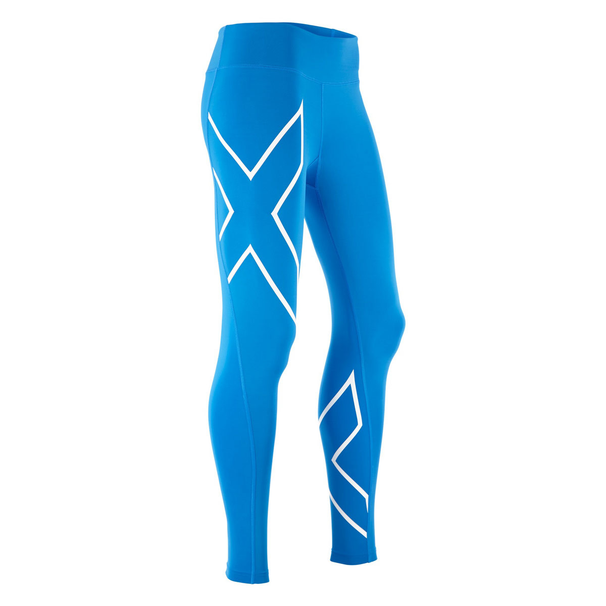 f0cca5a56327c 2XU Mid-Rise Compression Tights - Running trousers for Women - Blue | 21RUN