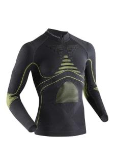 Underwear Shirt Black Energy Sleeve Accumulator For Men Zip Functional X Long Up Bionic 9YWIeEH2D