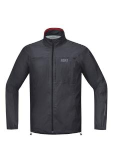 Homme Wear® Noir Active Pour Veste Essential Gore Course Running Vestes Tex FK3lT1cJ