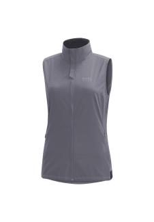 Pour Wear® Running Gris Essential Windstopper Vestes Gore Gilet Course Femme fgy7Y6vmIb
