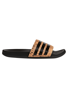 Adilette Cork Homme Noir Pour Cloudfoam Adidas Plus Tongs Slipper sQthrCd