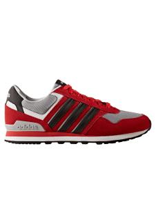 Homme Adidas 10k Pour Rouge Baskets Neo 3RLq4j5A