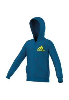 Adidas Pulls Zip Sweats Bleu Full Aop Essentials Hoody pzVUMSq