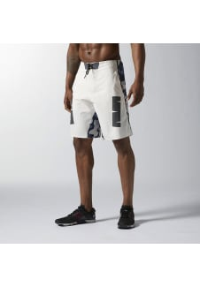 the latest 8a3aa 5ce83 Reebok Crossfit Super Nasty Strength - Pantalons fitness pour Homme - Blanc