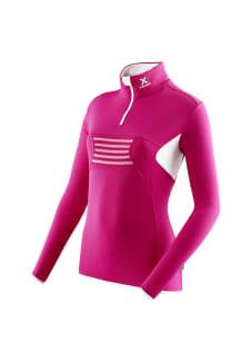 63e220d1bb X-Bionic Raccoon Ski Ow 2Nd Layer Zip Up - Camisetas de running para Mujer