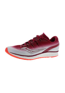 e8c21bc0257c Saucony Freedom Iso - Chaussures running pour Femme - Rouge