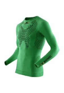 X-Bionic Running Twyce Shirt Long Sleeve - Maillot de course pour Homme -  Vert f3e2dd48fa66