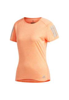 531c9eedf0bf adidas Response Cooler Tee - Laufshirts für Damen - Orange
