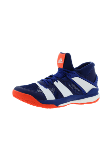 eb0f1809099 adidas Stabil X Mid - Handball shoes for Men - Blue