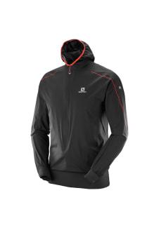 ffc11db02f8671 Salomon S-Lab Hybrid Jacket - Vestes course - Noir