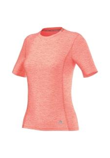 adidas Supernova Short Sleeve - Running tops for Women - Red bf8ec0474