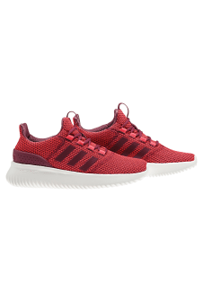 0a465774a1bef adidas neo Cloudfoam Ultimate - Baskets pour Femme - Rouge