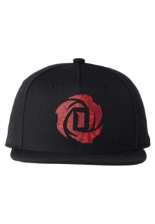 adidas D Rose 5 0 Snapback Cap - Headdress - Black