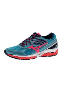 best loved 38a69 d632b Mizuno Wave Paradox 3 - Chaussures running pour Femme - Bleu