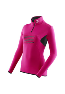 low priced c5f04 023e9 X-Bionic Raccoon Ski Ow 2Nd Layer Zip Up - Maillot de course pour Femme