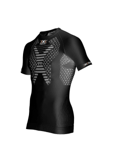 X-Bionic Twyce Running Shirt - Maillot de course pour Homme - Noir 0598056d094f