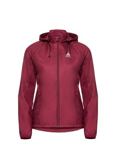 Rouge Vestes Femme X Pour Odlo Warm Irbis Jacket Element Course 1TlJc3KF