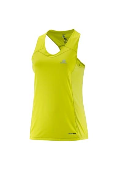 Amarillo Mujer Running Agile 21run Salomon De Camisetas Para Tank xnR0Ix7qwY