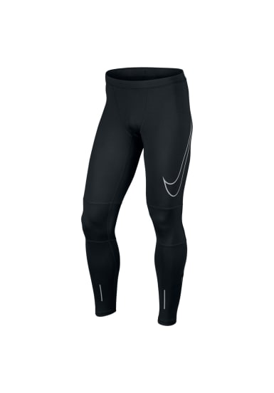 Power Running Noir Flash Pour Nike Tight Course Homme Essential Pantalons yvmnwON80