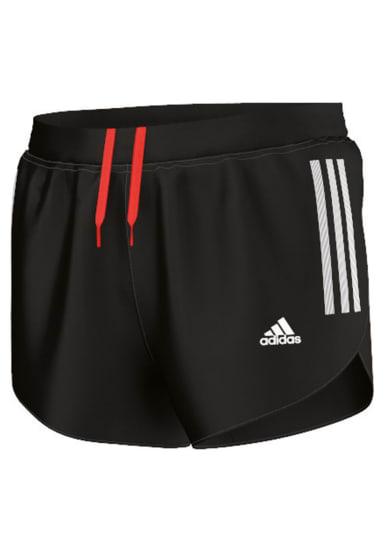 Negro Hombre Split Para Adizero Short Pantalones Adidas De Running UMVqSpz