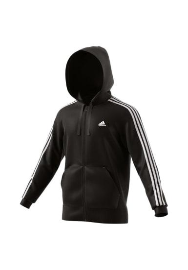 Stripes 3 Full Adidas Zip Hoodies Fleece Essentials Sweatshirts