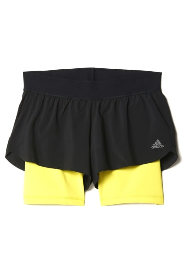 Short 2 Pour Adidas Noir Gym In Pantalons 1 Course Femme knw0OP