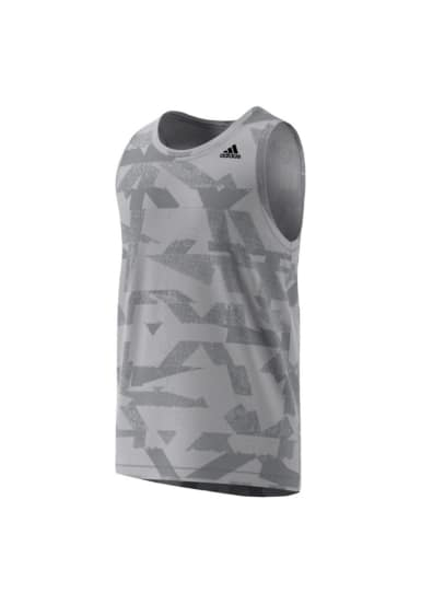 4622c7bf7c1007 adidas Elevated Lifter Tank Top - Running tops for Men - Grey