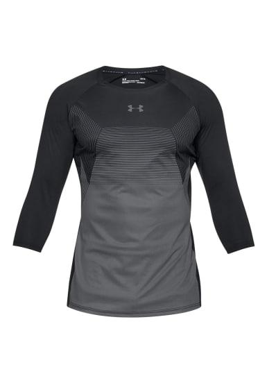 bd8effe6360 Under Armour Threadborne Vanish 3/4 Sleeve - Camisetas de running para  Hombre - Gris