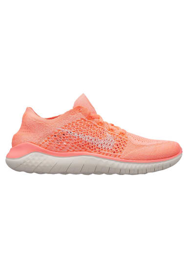 best service e675f 513b5 Nike Free RN Flyknit 2018 - Chaussures running pour Femme - Orange