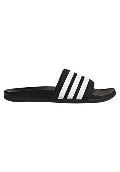 premium selection b6e99 014c4 Adilette Cloudfoam Plus Stripes Slipper - Chanclas para Hombre - Negro