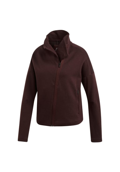 adidas Heartracer Jacket Here to Create Veste cyclisme pour Femme Marron