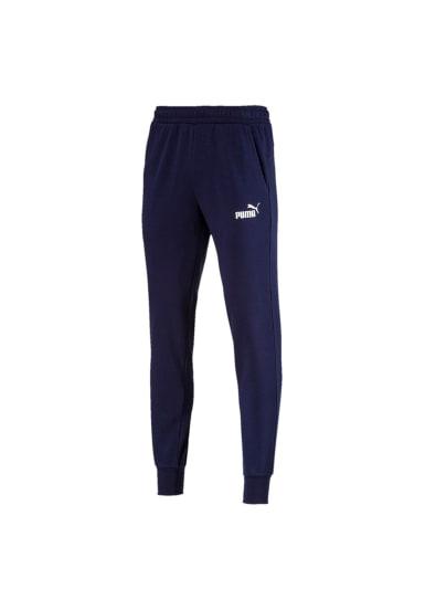 Puma Essential Logo Pants TR cl Pantalons course pour Homme Bleu