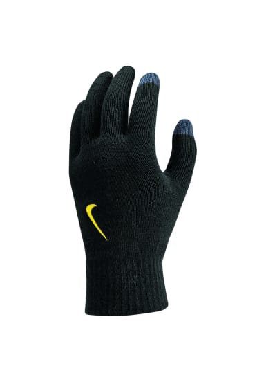 Nike Ya Knitted Tech And Grip Gloves Running Black 21run f45ae02e1b1